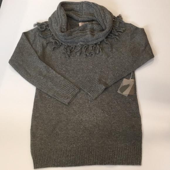 4b14134e98 Forever 21 Gray Tunic Sweater
